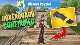 HOVERBOARD CONFIRMED IN BATTLE ROYALE! (GAMEPLAY) | Fortnite Daily Funny and WTF Moments Ep. 111