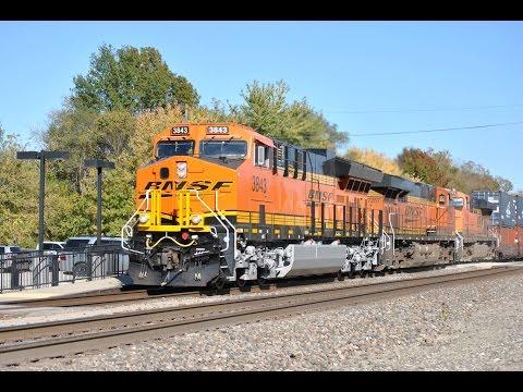 HD: La Plata, MO Railfanning w/ New Tier 4's, Meets, & More
