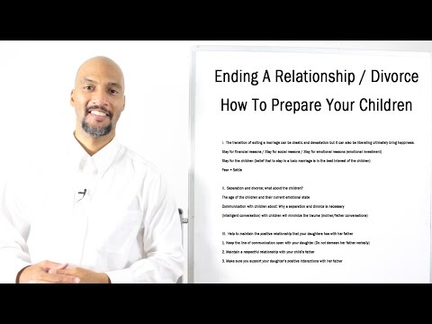 Marriage and Divorce ~ How To Prepare Your Children