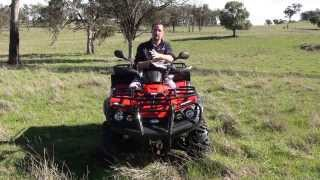 5. TGB BLADE 550 AR IRS 4X4 Review by Anthony Hood