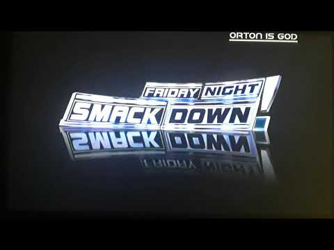 WWE Friday Night SmackDown! September 21, 2007 Intro + Pyro