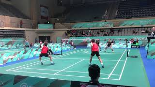 Download Video 2018 Macau Open MD Ko Sung Hyun/Shin Baek Cheol VS Wahyu Nayaka/Ade Yusuf SANTOSO MP3 3GP MP4