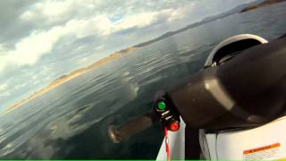 2. Kawasaki STX 15f Top Speed Run on morning glass water.