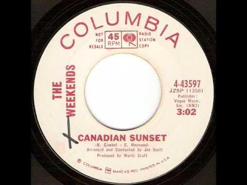 Tekst piosenki The Weekends - Canadian Sunset po polsku