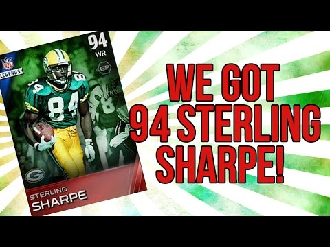 Sterling - Madden 15 Ultimate Team :: WE GOT 94 STERLING SHARPE! ::-XBOX ONE Madden 15 Ultimate Team ▽Buy Your CHEAP mut coins here!▽ http://buycheapmutcoins.com USE CODE: