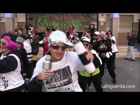 Martes de disfraces en el Carnaval de Isla Cristina 2020