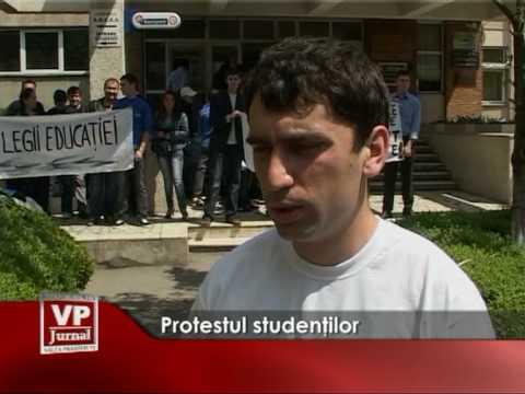 Protestul studentilor