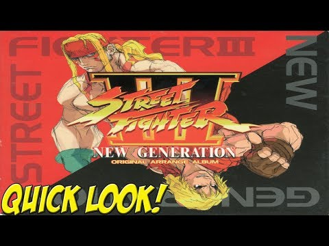 Dreamcast: Street Fighter III The New Generation! Quick Look - YoVideogames