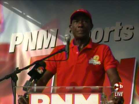 Prime Minister Announces Intention To Contest PNM's Internal Election With Full Slate