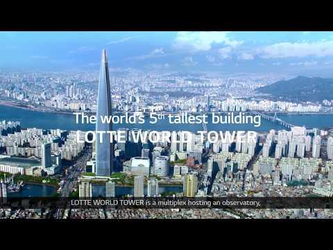 Maravilloso rascacielos en Seúl incorpora el Digital Signage