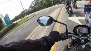 8. 2015 Suzuki GSX S750 demo ride
