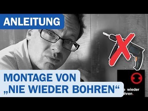 Nie wieder bohren! Montage - DUSCHMEISTER.DE