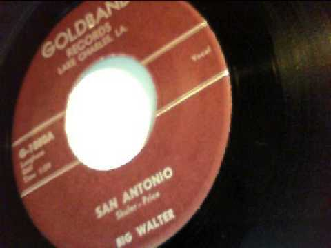 san antonio - big walter - goldband 1958