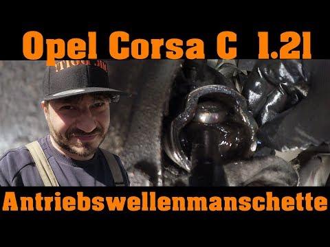Opel Corsa C - Antriebswellenmanschette und Koppelstangen erneuern! 🔧 🔧 🔧