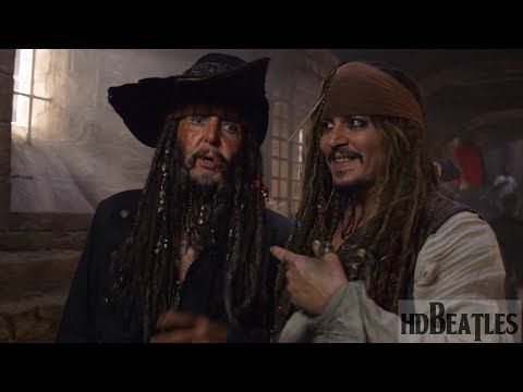 How Sir Paul McCartney act in film Pirates of the Caribbean: Dead Men Tell No Tales (видео)