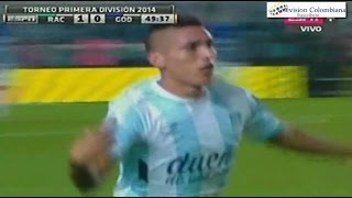 Racing 1 vs Godoy Cruz 0 - Racing Campeon 2014 - Gol de Centurion - 14/Diciembre/2014
