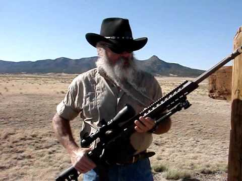 .338 lapua rifles - Jeff Quinn ( http://www.gunblast.com ) tests the Barrett 338 Lapua Magnum Bolt-Action MRAD Rifle. For more info, go to http://www.gunblast.com/Barrett-MRAD.htm.