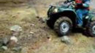 1. 2007 Yamaha Grizzly 450 4x4 ATV Showing Off Diff-Lock