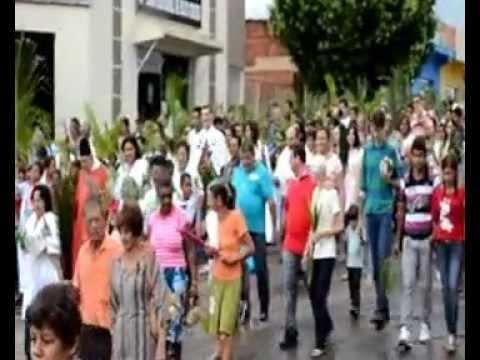 Paróquia de Araputanga - Domingo de Ramos - procissão - 2013 (2)