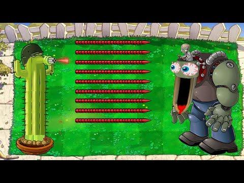 99 Cactus vs All Zombie  PvZ | Plants vs Zombies Battlez