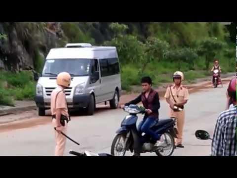 Trò đùa với cảnh sát giao thông
