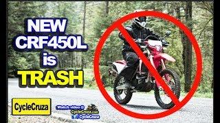 5. Why New 2019 Honda CRF450L is TRASH 💩