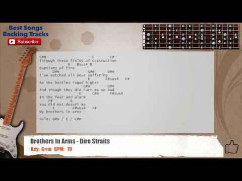Brothers in Arms - Dire Straits - cover - easy chords guitar lesson ...
