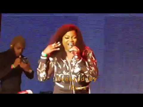 Falz (Sege) vs Funke Akindele (Jenifa) | Shaku Shaku Dance Competition Live in London | 2018