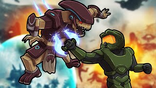 Playing MINECRAFT as MASTER CHIEF! (Halo Mod)