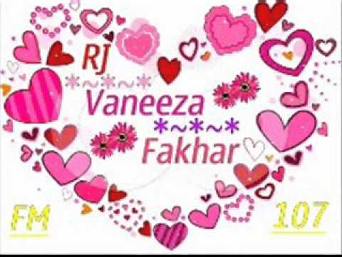 Vaneeza Fakhar on Awaz FM 107 22 July 2012