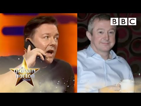 Ricky Gervais a Thandie Newton u Grahama Nortona