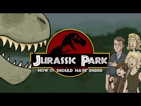 How Jurassic Park Should Have Ended