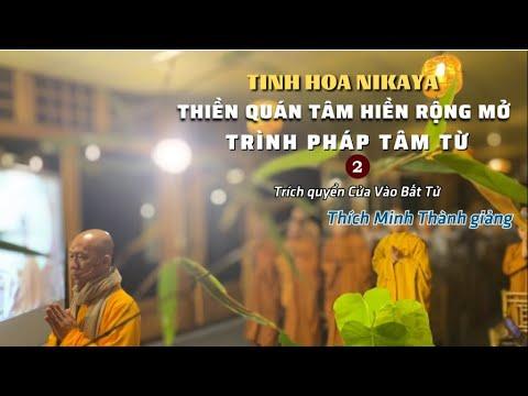 Tinh Hoa NIKAYA - Thiền Quán Tâm Hiền Mở Rộng - Trình Pháp Tâm Từ 2