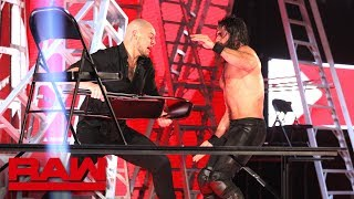 Nonton Rollins Vs  Corbin   Intercontinental Title Tables  Ladders   Chairs Match  Raw  Dec  10  2018 Film Subtitle Indonesia Streaming Movie Download
