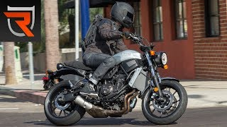 3. 2018 Yamaha XSR700 First Test Review Video | Riders Domain