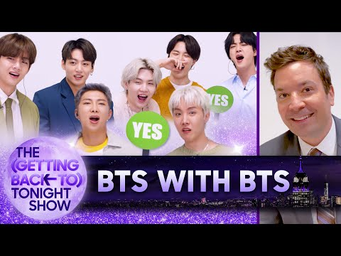 Behind The Scenes with BTS | The (Getting Back to) Tonight Show – Ep. 8