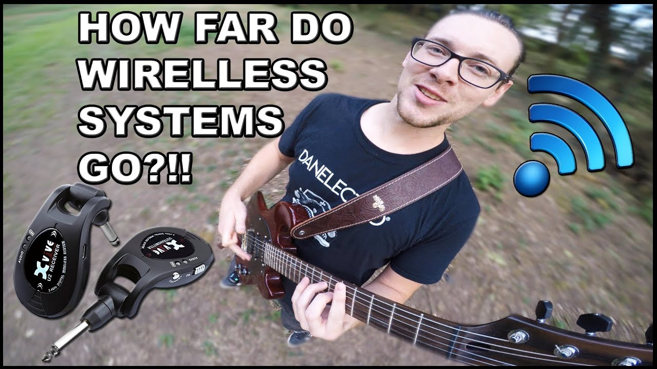 XVive U2 Wireless System For Electric Guitar – RANGE TEST & REVIEW