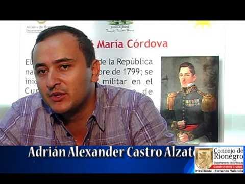 Concejal rionegrero Adrian Castro