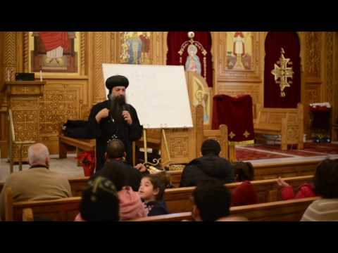 Learning Coptic with Bishop David .. Lesson#1