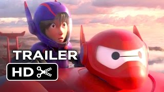 Big Hero 6 TRAILER 2 (2014) - Maya Rudolph Marvel Movie HD