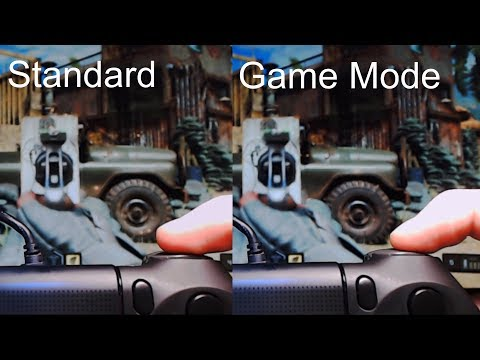 Does Game Mode Make A Difference? - Tv/monitor Input Lag Comparison (on Vs Off)