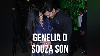 Genelia D Souza Son