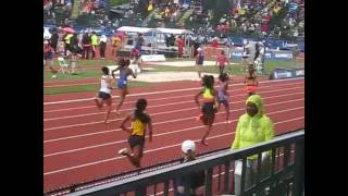 Seymour (IN) United States  city pictures gallery : McLaughlin Seymour, 400 Hurdles Round 1 @ U.S. Olympic Trials