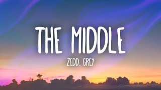 Video Zedd, Grey - The Middle (Lyrics) ft. Maren Morris download in MP3, 3GP, MP4, WEBM, AVI, FLV January 2017