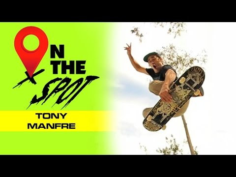 Tony Manfre - The one and only Tony Manfre gets steezy on the concrete lumps and ledges of the Cow Palace DIY in SF. Brought to you by OJ Wheels, Independent Trucks and St...