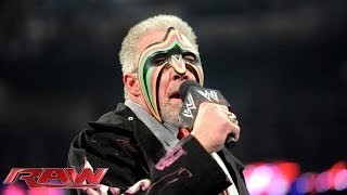2014 WWE Hall of Famer Ultimate Warrior speaks: Raw, April 7, 2014