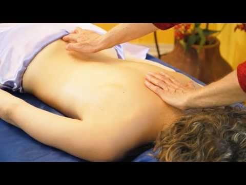 Back - Back Massage Therapy For Women Tutorial, ASMR Athena Jezik & Courtney Bell In this video Athena Jezik gives Courtney Bell a back massage for women and explains what she is doing in a tutorial...