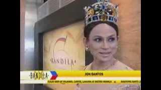 Jon Santos Spoofs Miss World 2013 Megan Young