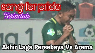 Video Merinding..!!Tangis haru Pemain dan official Persebaya | this's song for pride MP3, 3GP, MP4, WEBM, AVI, FLV Agustus 2018