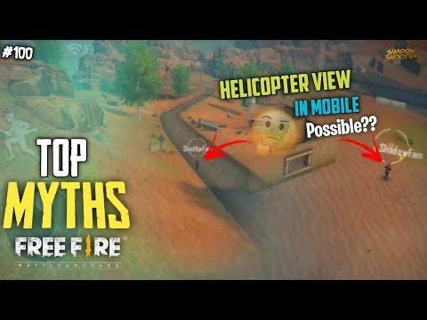 Top Mythbusters in FREEFIRE Battleground | FREEFIRE Myths #100